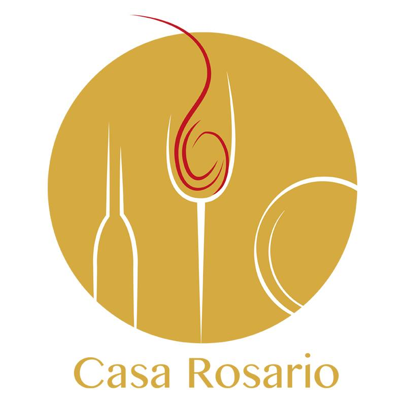 Logo design casa rosario - das mechanische auge