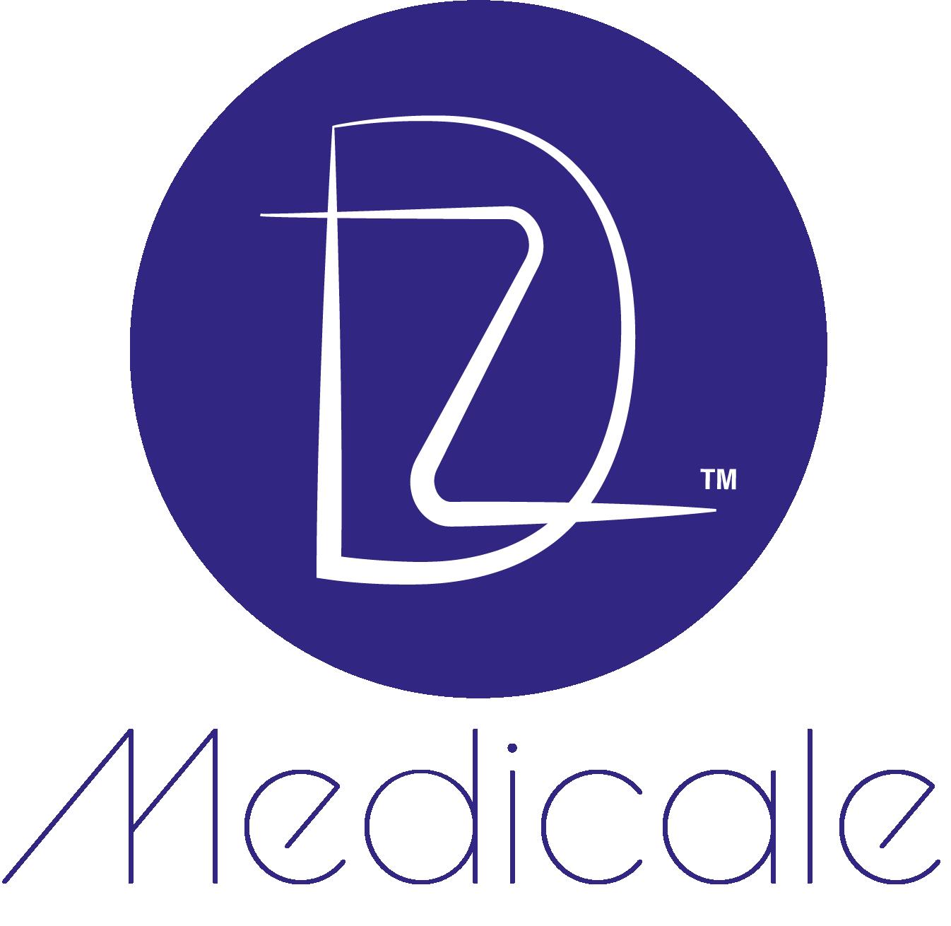 logo design DZ Medicale das mechanische auge düsseldorf